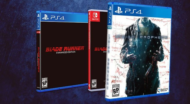 Limited Run Games to Release Blade Runner and Indigo Prophecy Physical Editions
