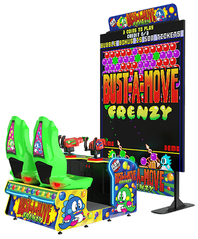BUST-A-MOVE Returns to Arcades With BUST-A-MOVE FRENZY