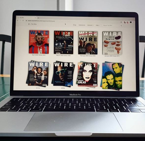 The 'Wire' Music Magazine Makes its Archive FREE for this week!