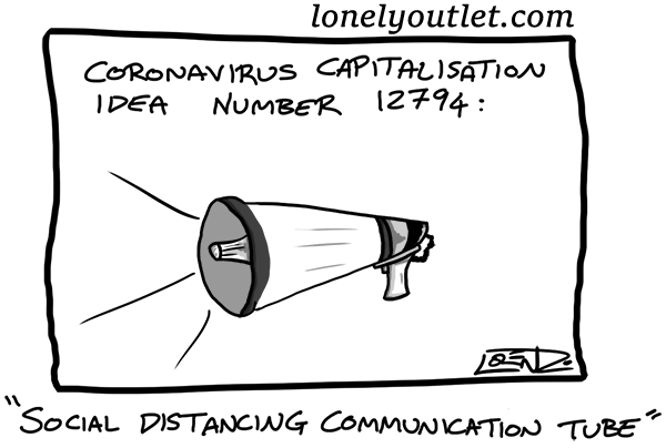 "Cartoon: ""Coronavirus Capitalisation"" (2020-04-02)"