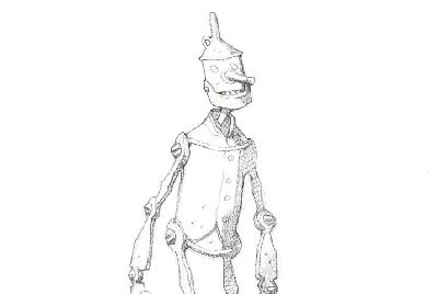 Tin-Man by Mike Mignola