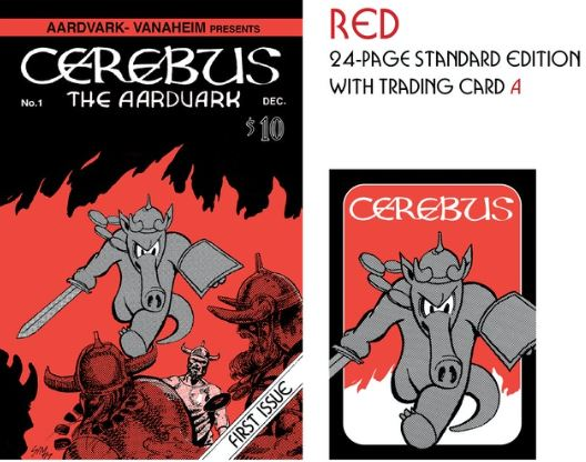 FINAL 12 HOURS – Cerebus the Aardvark No. 1 Remastered Kickstarter